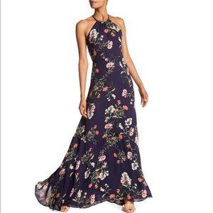 PARKER Floral Sleeveless Maxi Dress